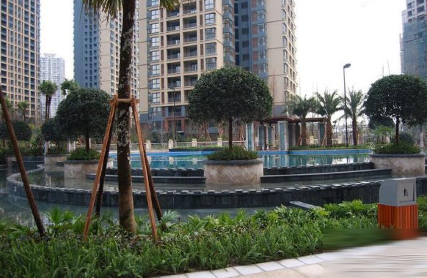 重庆奥林匹克花园外景图