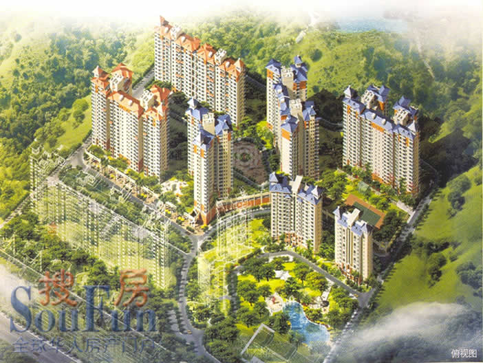 推推99惠州房产网城市绿洲外景图
