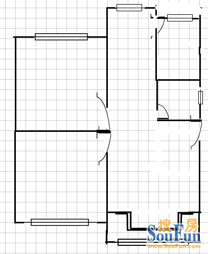 昆明棕树营小区户型图