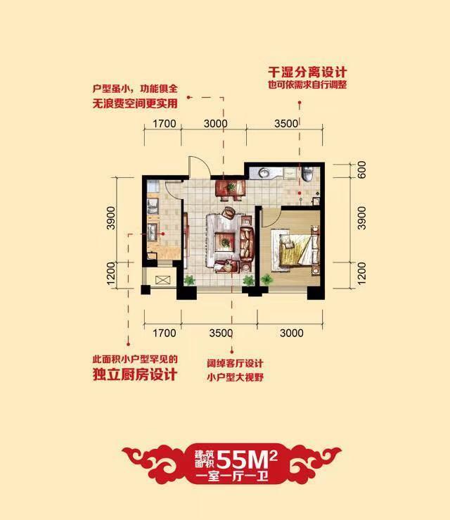 推推99房产网华大城在售新房房源图片