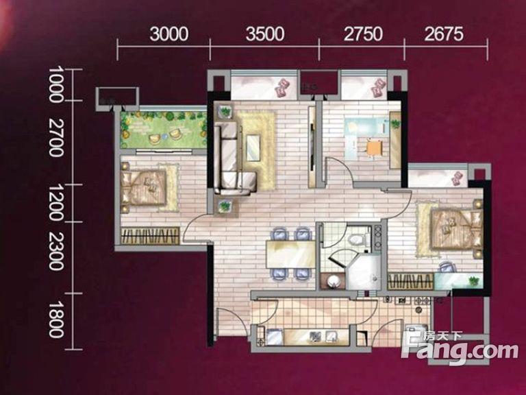 推推99房产网誉峰遇见在售新房房源图片