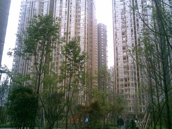 推推99成都房产网合能耀之城外景图