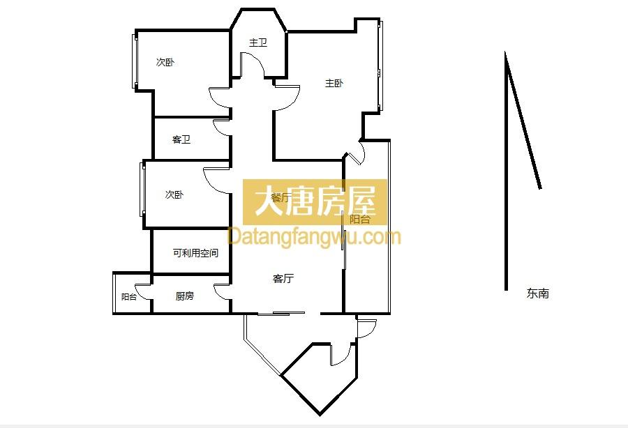 洛森堡新殿 产权145平 价格175平 低楼层