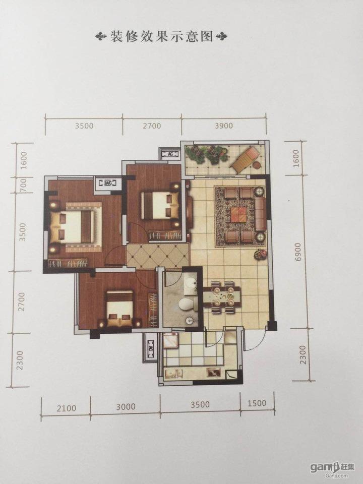 推推99房产网青白江阳光花园在售新房房源图片