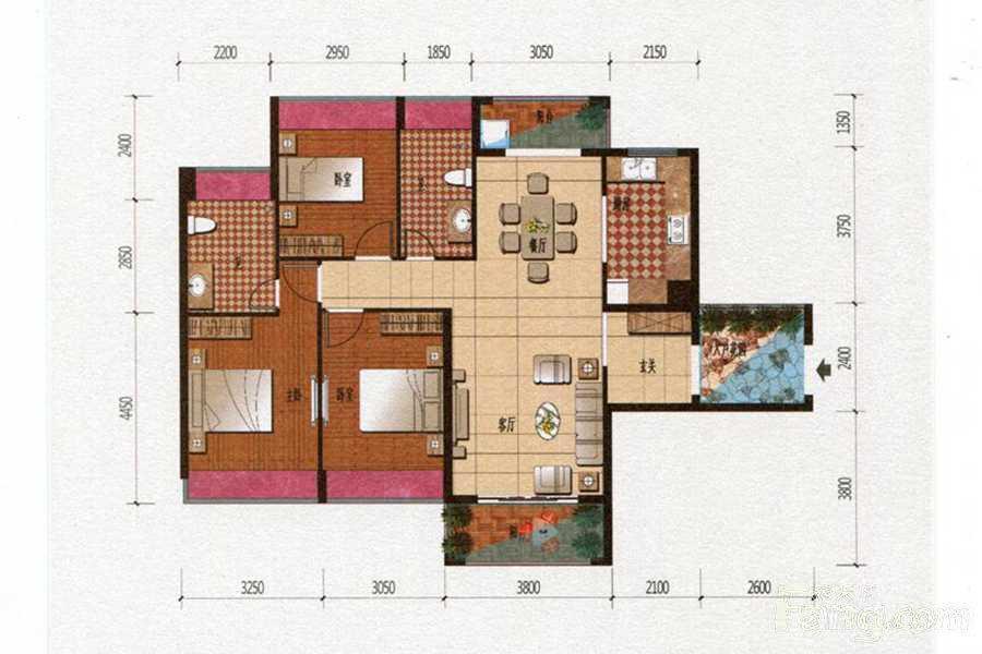 推推99东莞房产网盛和雅颂出租房房源图片