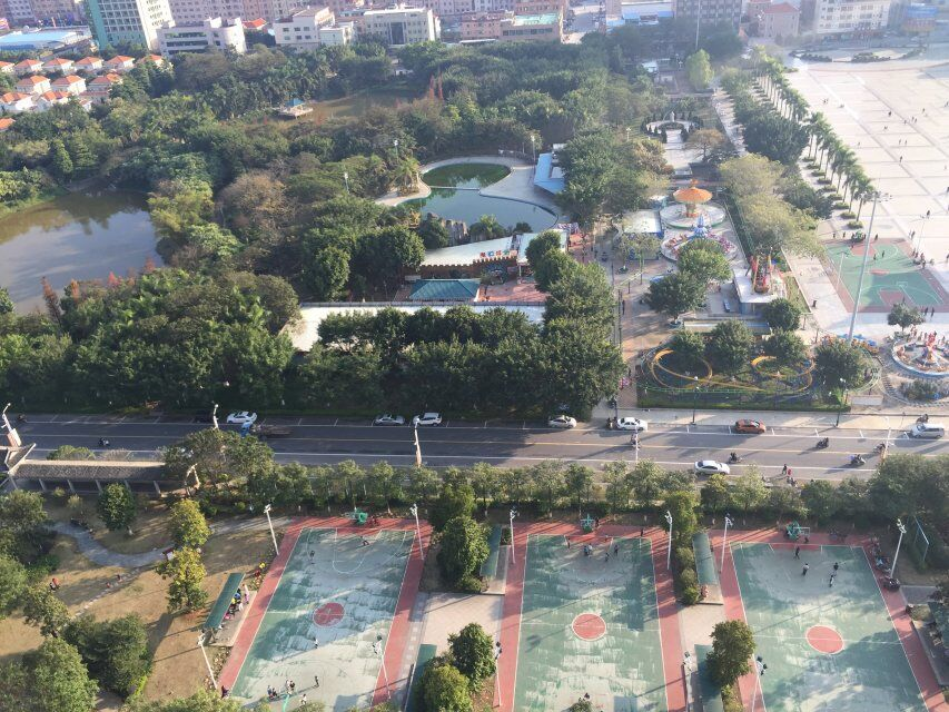 惠州园洲花园外景图