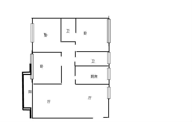 推推99崇左房产网世纪花园出租房房源图片