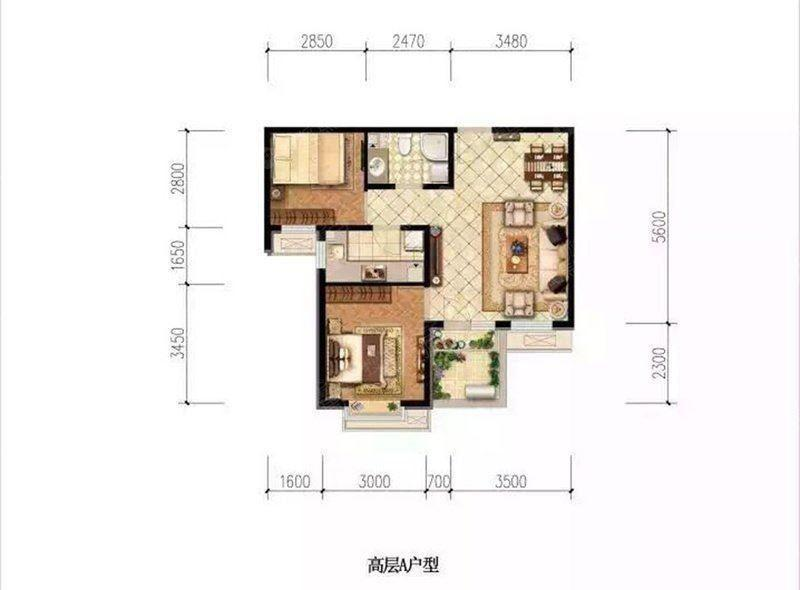 推推99房产网爱晚大爱城在售新房房源图片