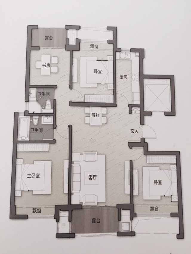 推推99杭州房产网万通时尚公馆户型图
