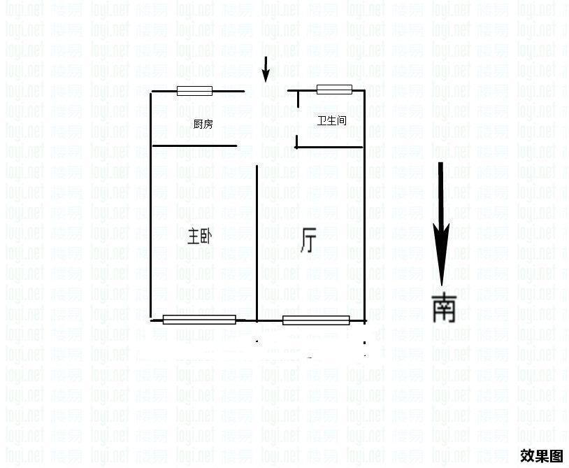 推推99杭州房产网友谊新村户型图