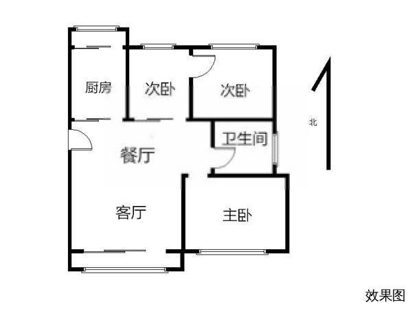 杭州万科北宸之光户型图