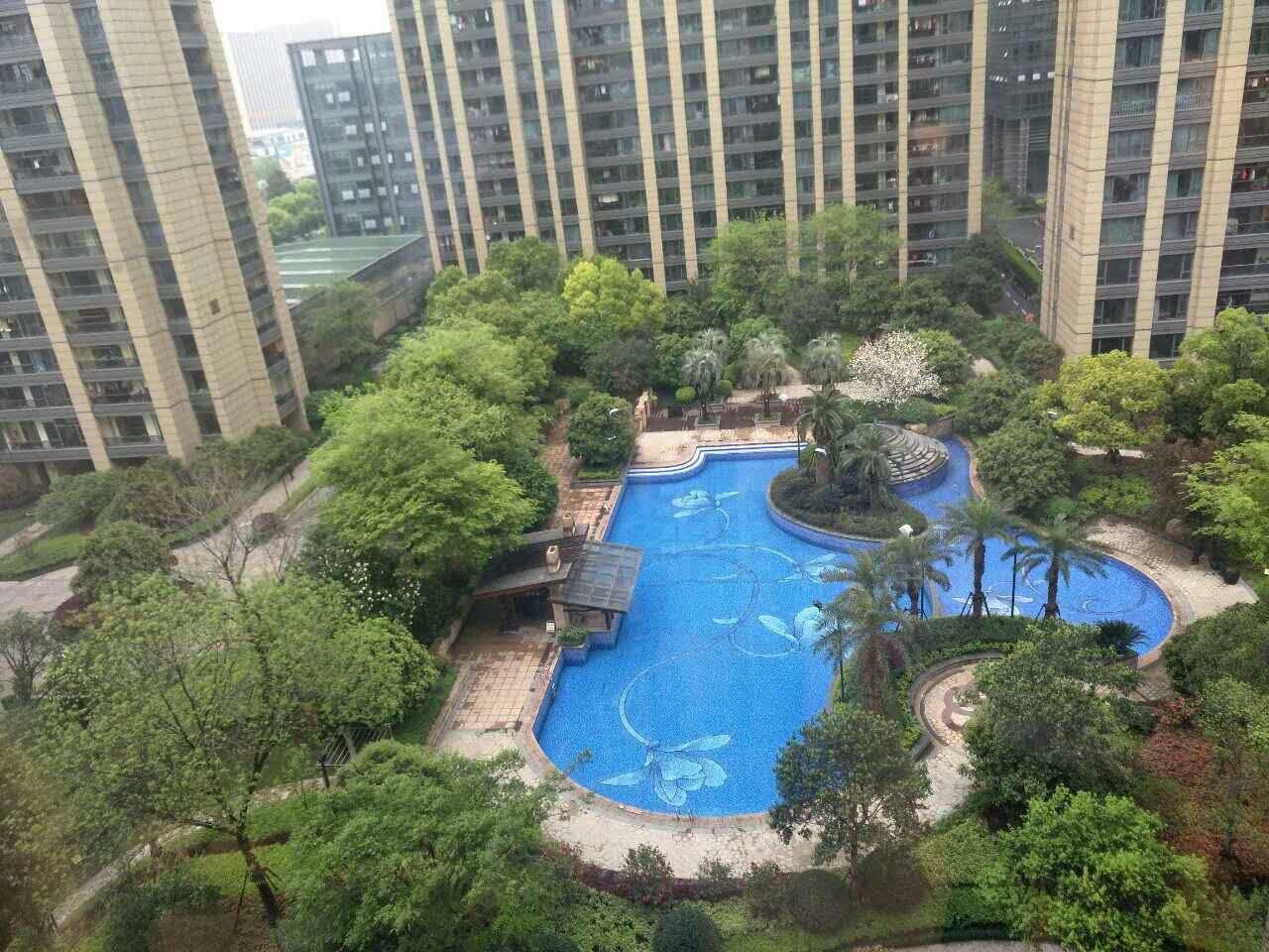 杭州滨江金色蓝庭外景图
