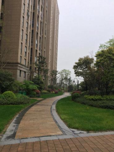 杭州复地上城外景图