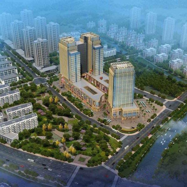 杭州天润商业中心外景图