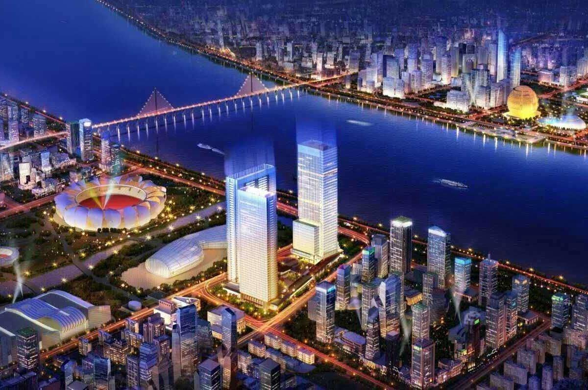 杭州碧桂园深蓝国际中心外景图