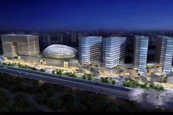 推推99杭州房产网中大银泰城外景图