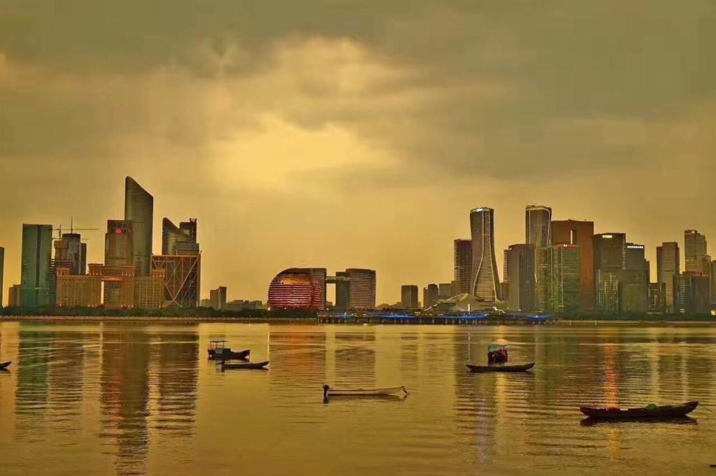 杭州世包国际中心外景图