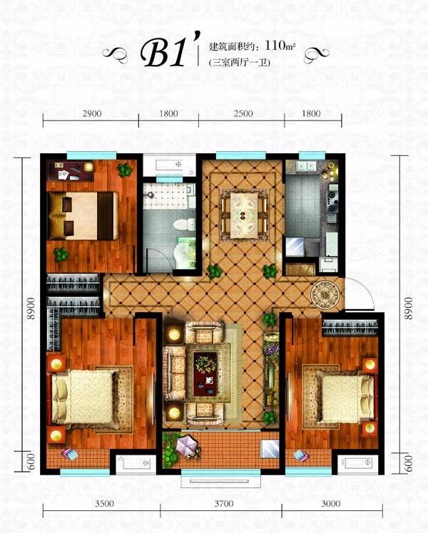 推推99房产网劝学里在售新房房源图片