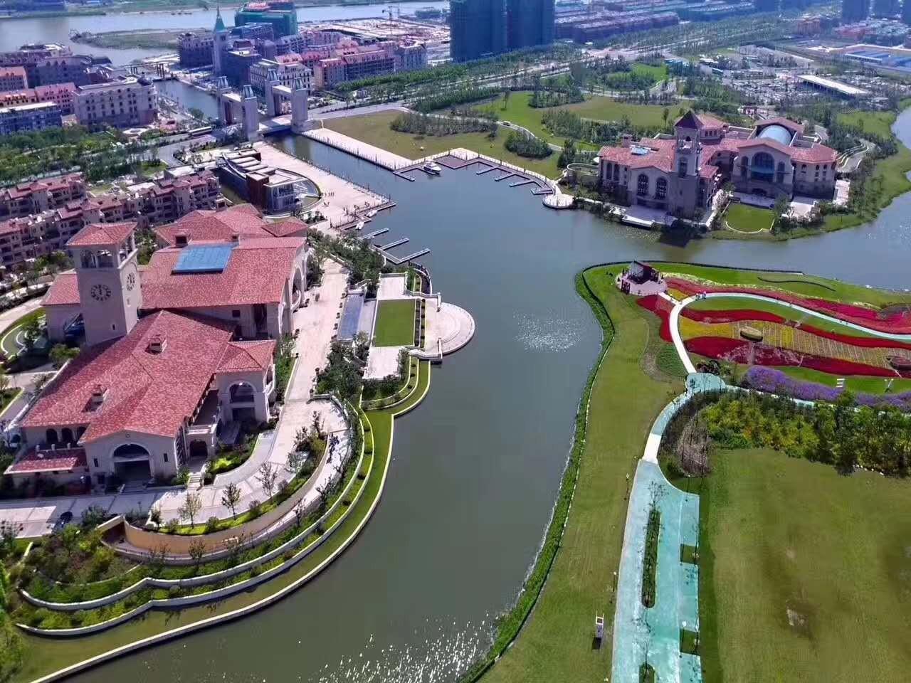 绿地集团2000亿打造一座城 生态岛 上海生