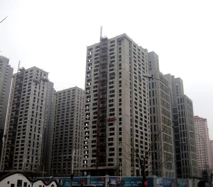 推推99天津房产网九州国际外景图