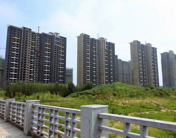 郑州永威五月花城外景图