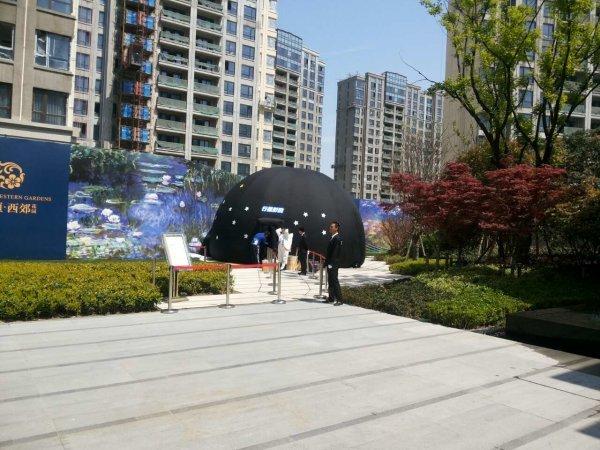 上海仁恒西郊花园外景图