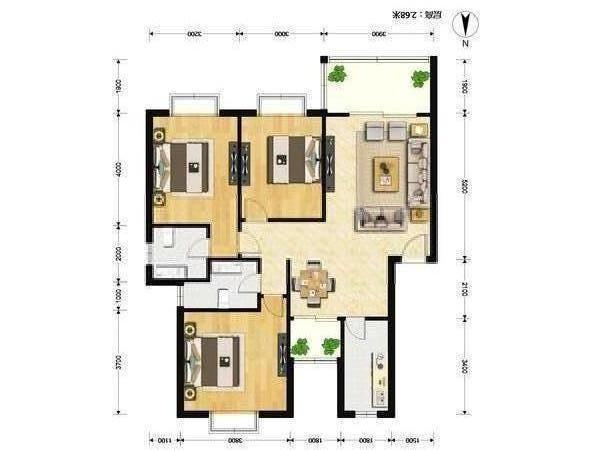 推推99上海房产网幸福小镇户型图