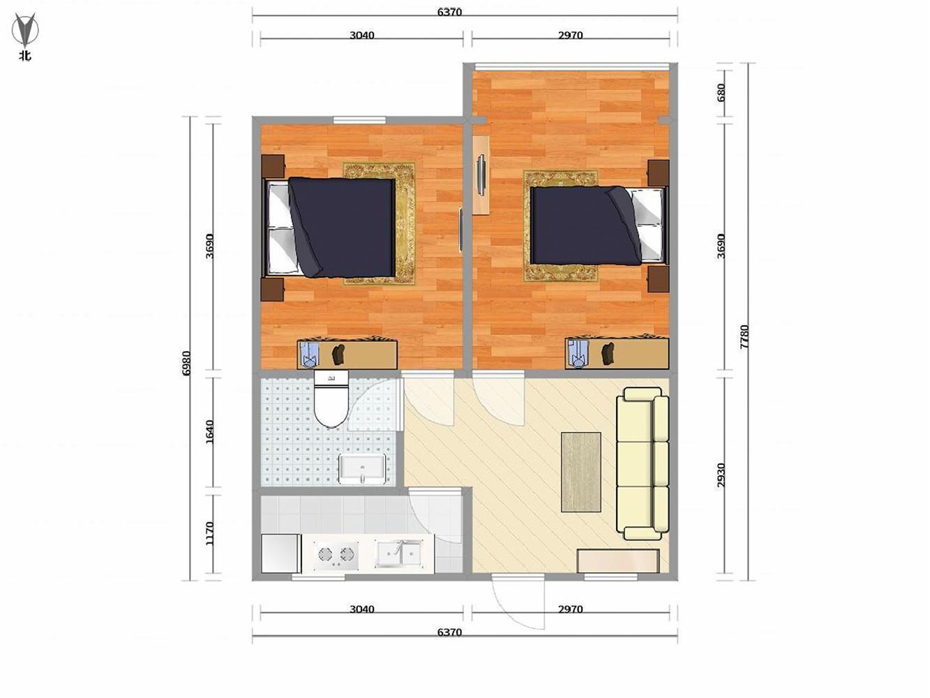 推推99房产网运河大公馆在售新房房源图片